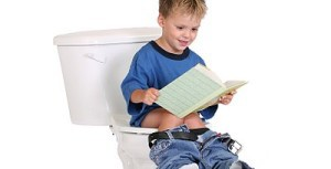 Boy Reading While Potty Training How to Use Potty Training Videos and Books Successfully